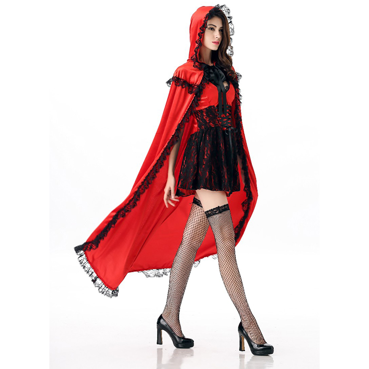 Adult Red Riding Hood Costume Deluxe Adult Little Re...