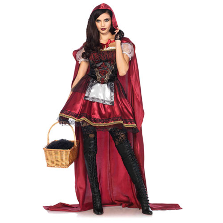 Sexy Adult Little Red Riding Hood Costume N12895