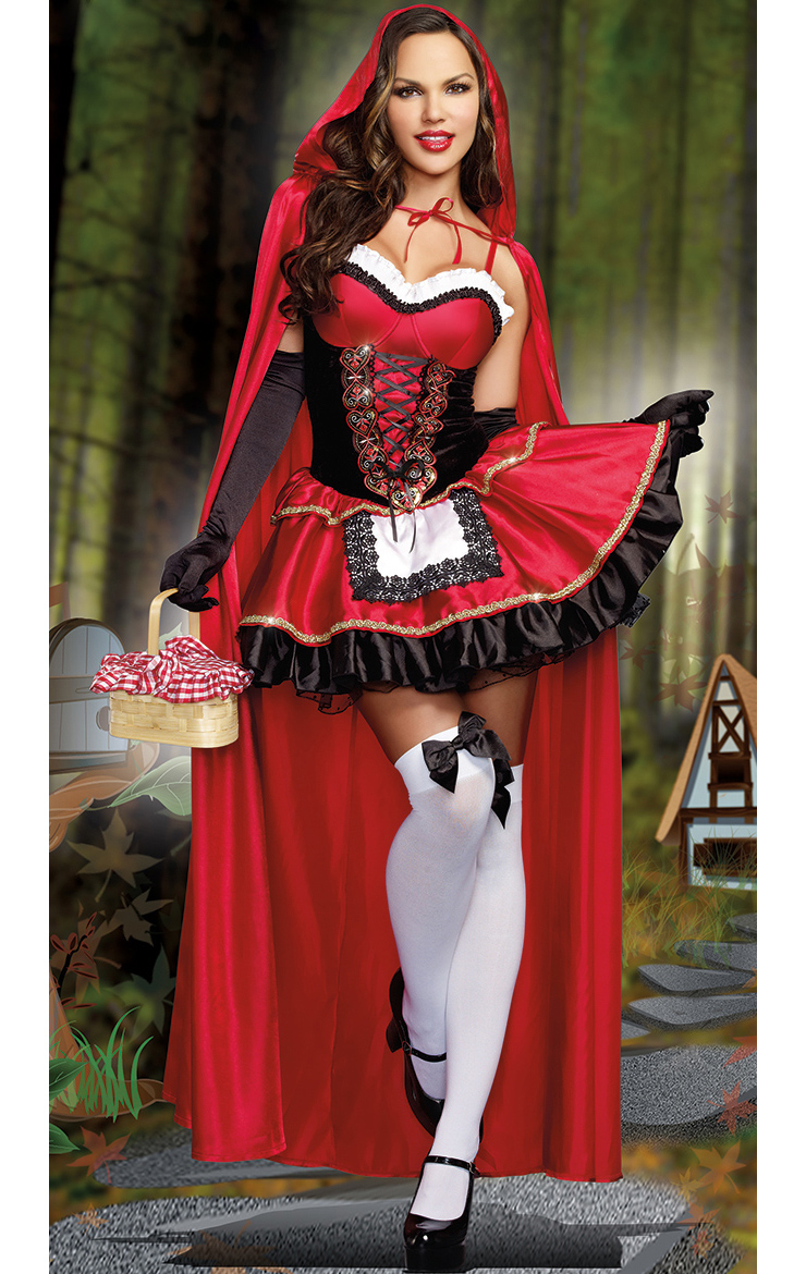 from Anderson red riding hood adult costume