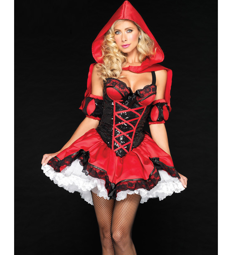 Little red riding hood costume N6763