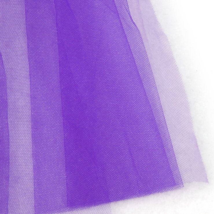 Long Mesh Bustle Skirt with Satin Bow Accents, Long Mesh Petticoat, Bustle Petticoat, #HG12388