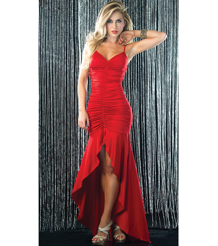 Long Red Gown Dress N5373 0e7437ce4