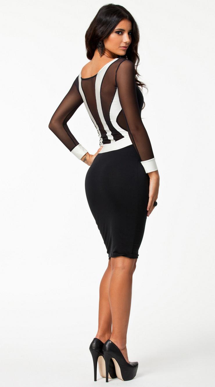 Long Sleeve Celebrity Evening Dress N7563