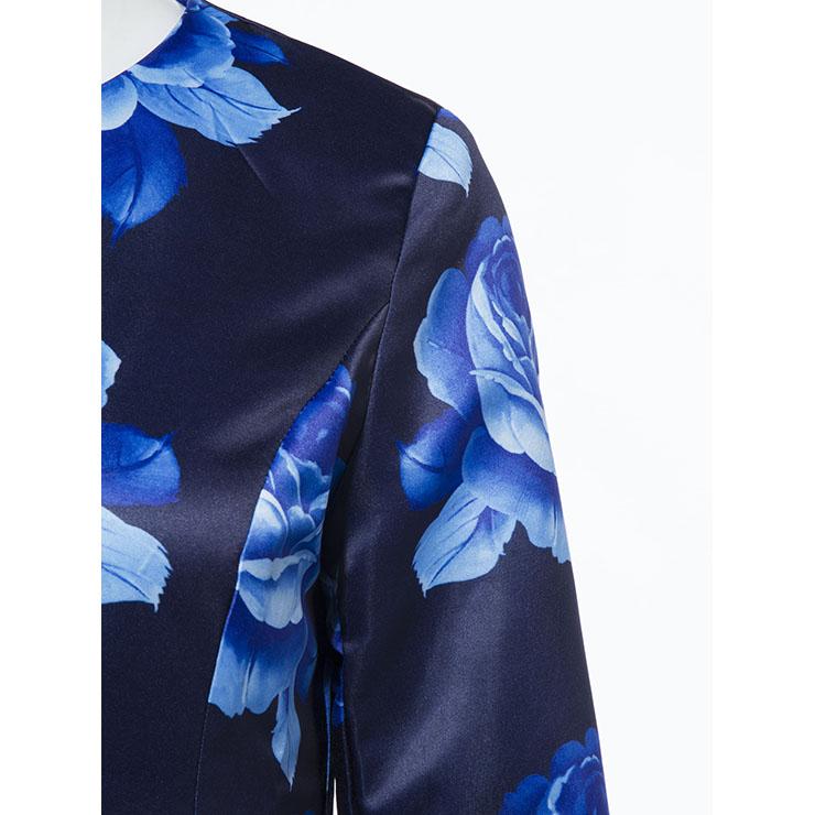 Long Sleeve Overcoat, Single-breasted Women
