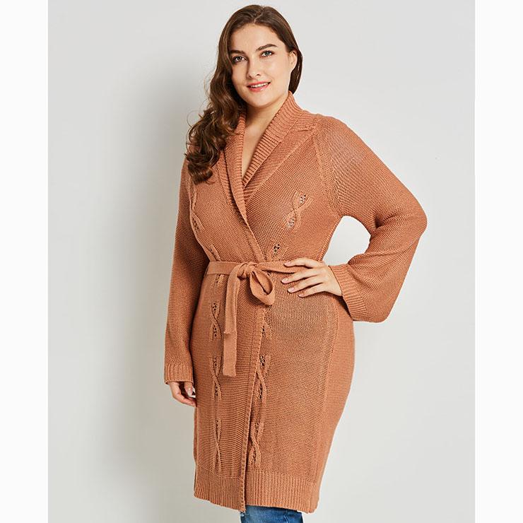 Long Sleeve Cardigan, Shawl Collar Cardigan, Plus Size Cardigan for Women, Long Cardigan Plus Size, Plain Cardigans for Women, Solid Color Cardigan, Casual Cardigans for Women, #N15544