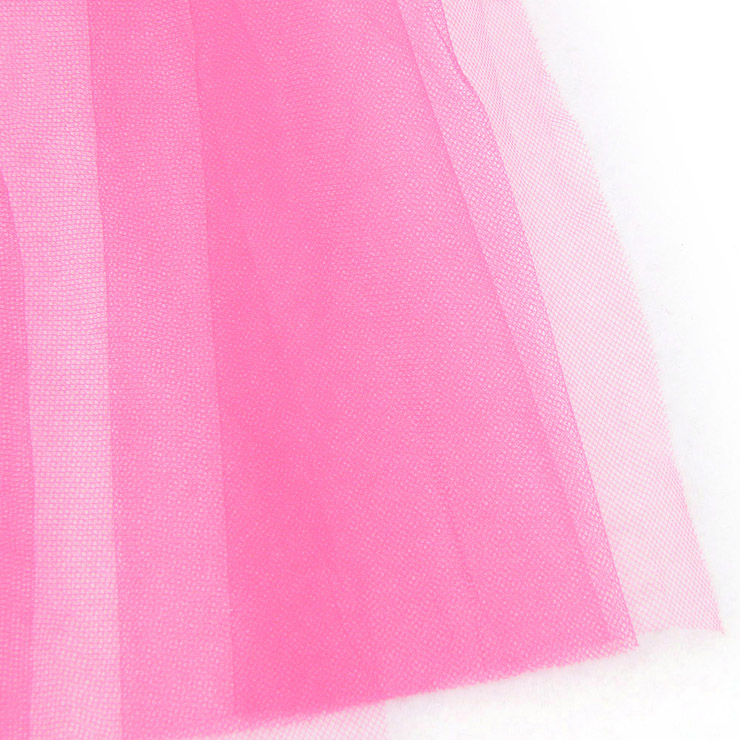 Long Tulle Bustle Skirt with Satin Bow Accents, Long Tulle Petticoat, Bustle Petticoat, #HG4260