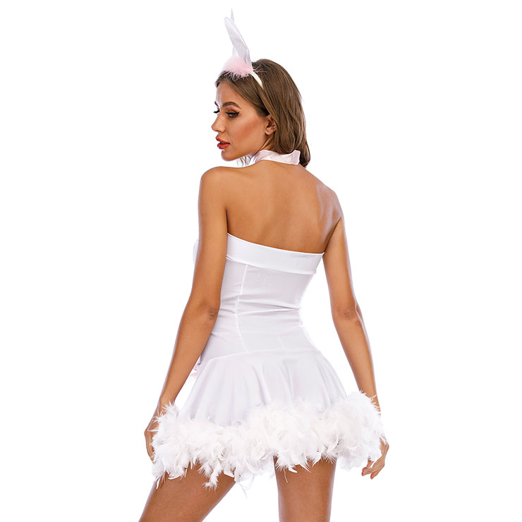 Bunny Costume for Women, Cartoon Character Costume, Animal Costume,Halloween Costume for Women, Sexy Rabbit Costume, Cosplay Game Costumes, Adult Animals Braces Costume, Adult Rabbit Halloween Costume,#N21167