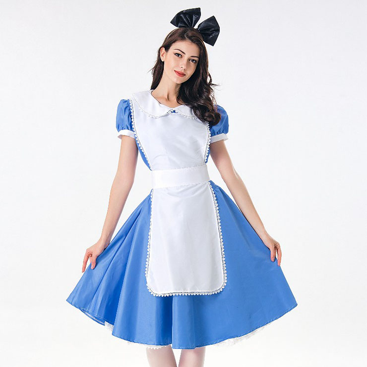 Lovely House Maid Adult Halloween Cosplay Costume N17994