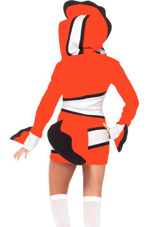 Cozy Orange Fish Costume, Cute Halloween Costume, Under the Sea Costume,  #N11059