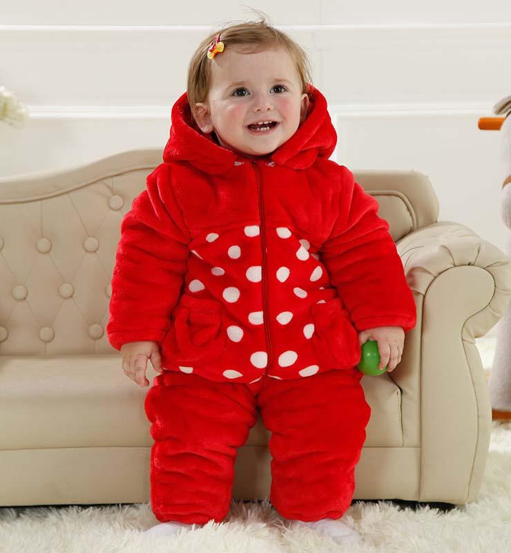 Lovely Red Crab Shape Baby Romper N9789
