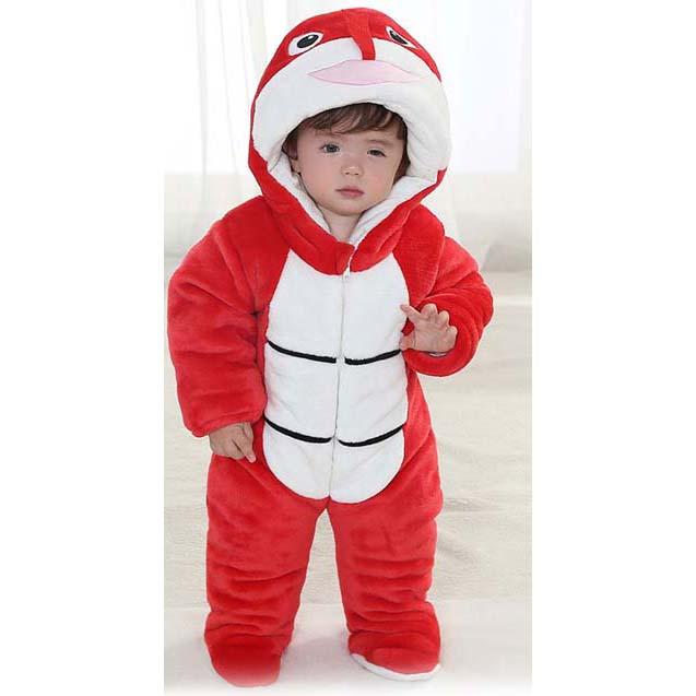 Lovely Red Snake Shape Baby Romper Costume N9795