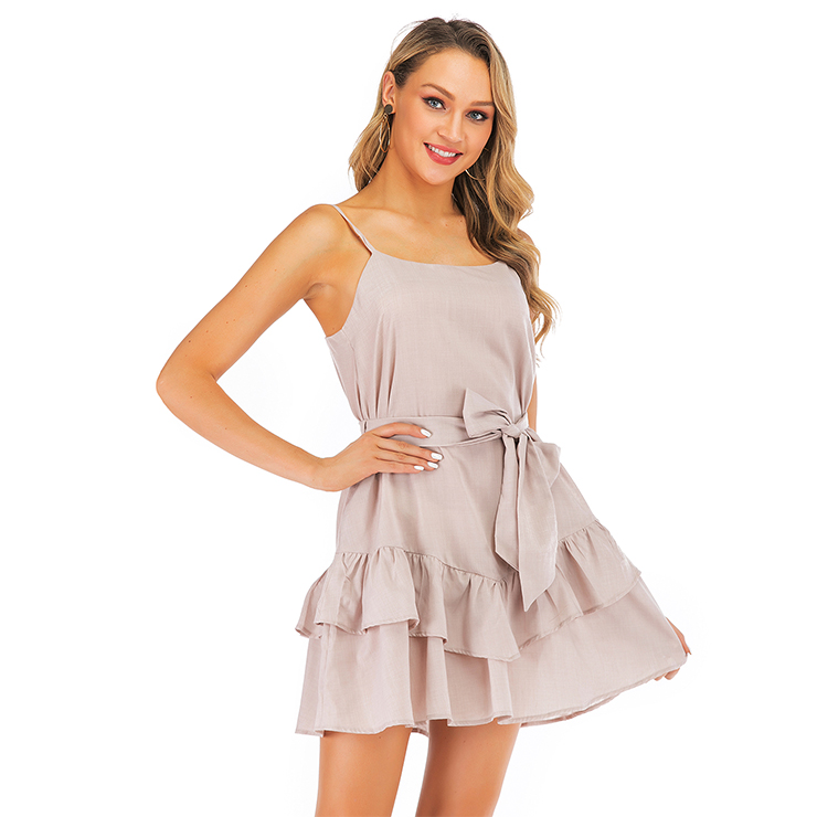 Fashion OL Dress, Fashion Ruffle Mini Dress, Sexy High Waist Dress, Cheap Party Dress Wholesale, Retro Dresses for Women 1960, Vintage Dresses 1950