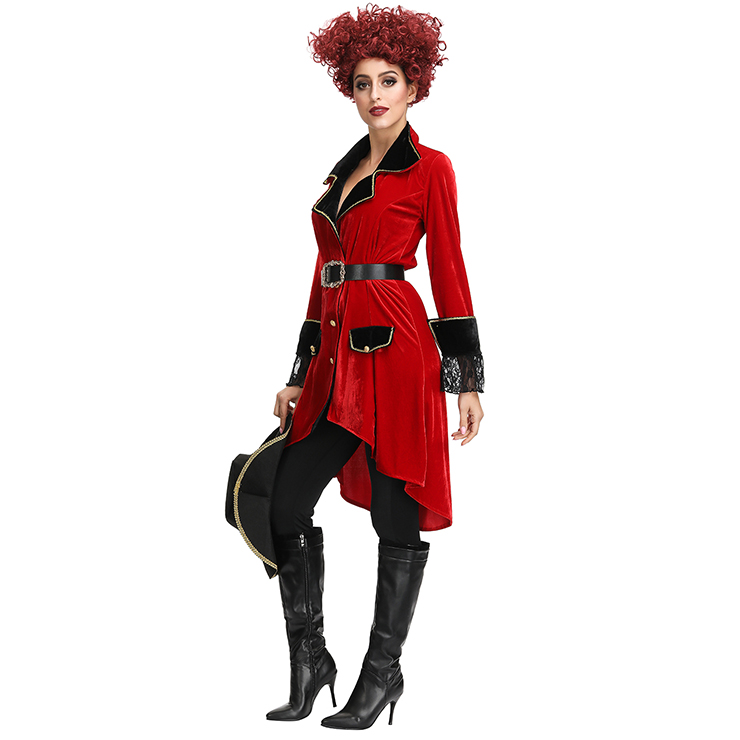 Sexy Pirate Role Play Costume, Deluxe Halloween Costume, Pirates Fancy Costume, Cheap Women