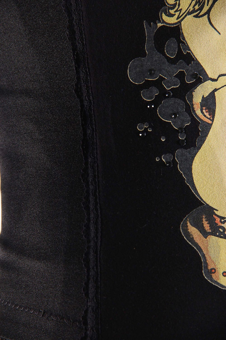 Magic Printed Rhinestone Corset, Wholesale Magic Printed Rhinestone Corset, Naughty Corsets, #N4343