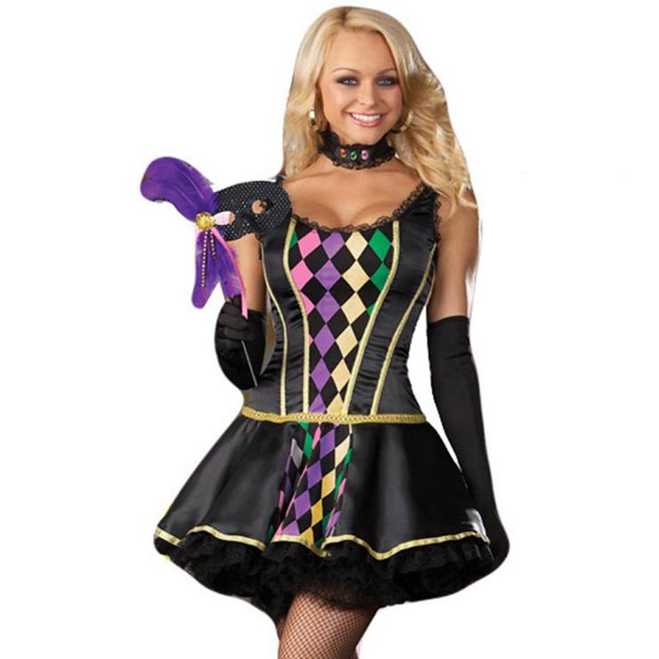 Mardi Gras Masquerade Costume N2088