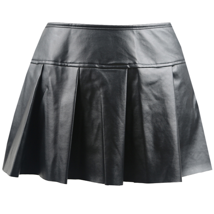Sexy Gothic Leather Skirt HG8225