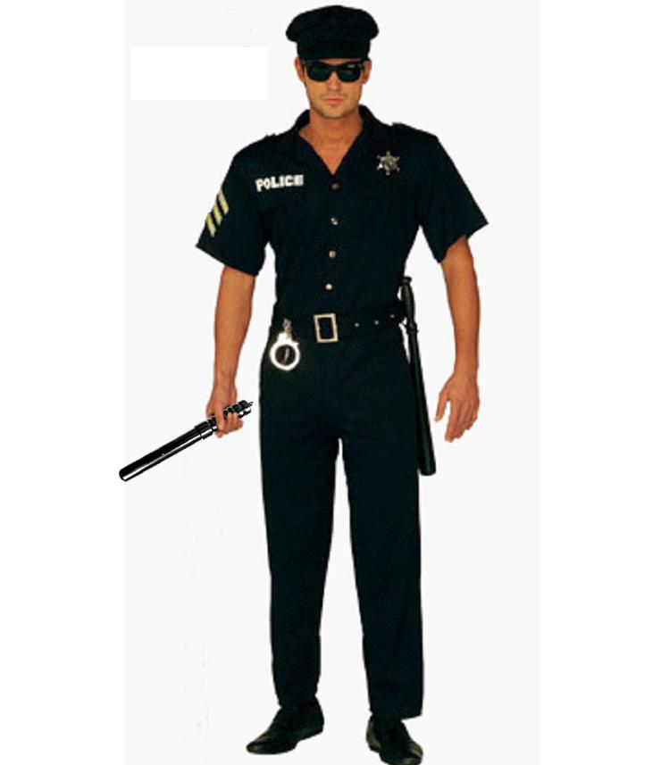Men's Cop Costume N5084