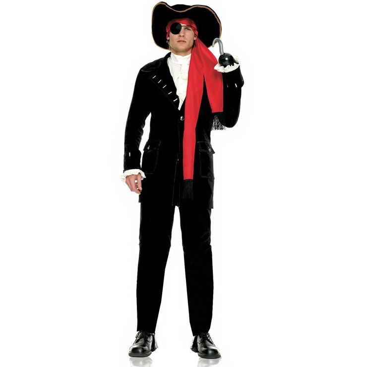 Men's Pirate Captain Costume P6809