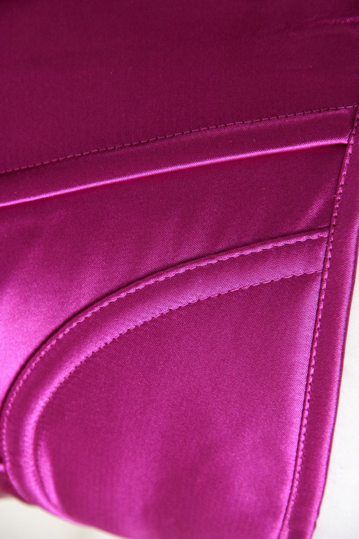 Metal Boned Corset, Corset Purple, Overbust Purple Boned Corset, #N2924