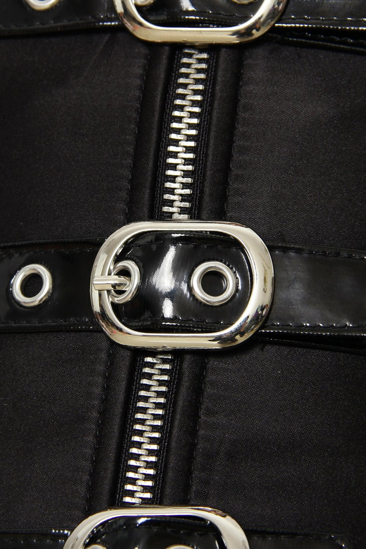 Metal Boned Underbust Corset, zipper Underbust Corset, Steel Boning Underbust Corset, #N4302