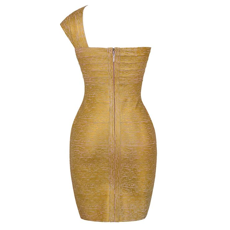 e18c9b585a9 Sexy Bandage Dress for Women, Fashion Midi Bandage Dresses, Bodycon Bandage  Party Dress,