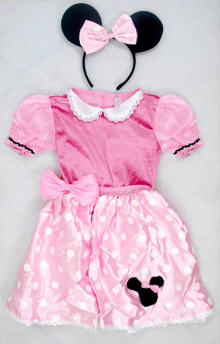 Minnie Mouse Costume, Girls Minnie Mouse Costume, Girls Costumes, #N5170