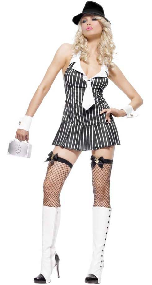 Mafia Princess Costume, Women