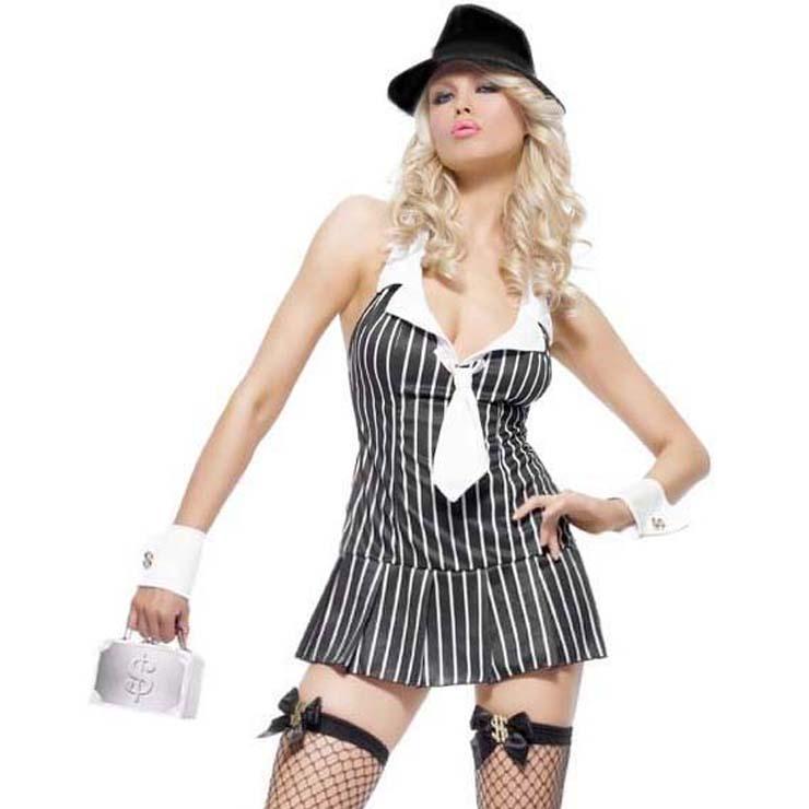 Miss Mafia Costume N10150