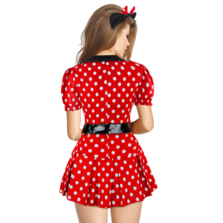 Sexy Adult Fairy Tale Costumes, Playful Mouse Costume, Naughty Mouse Costume, Lovely Mouse Costume, Figure-flattering Miss Mouse Costume, Sexy Mouse Costume#CP8007
