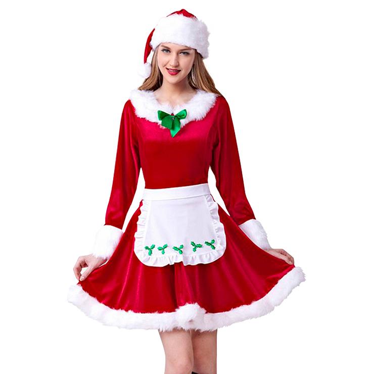 Women's Mrs. Santa Claus Christmas Costume XT15029