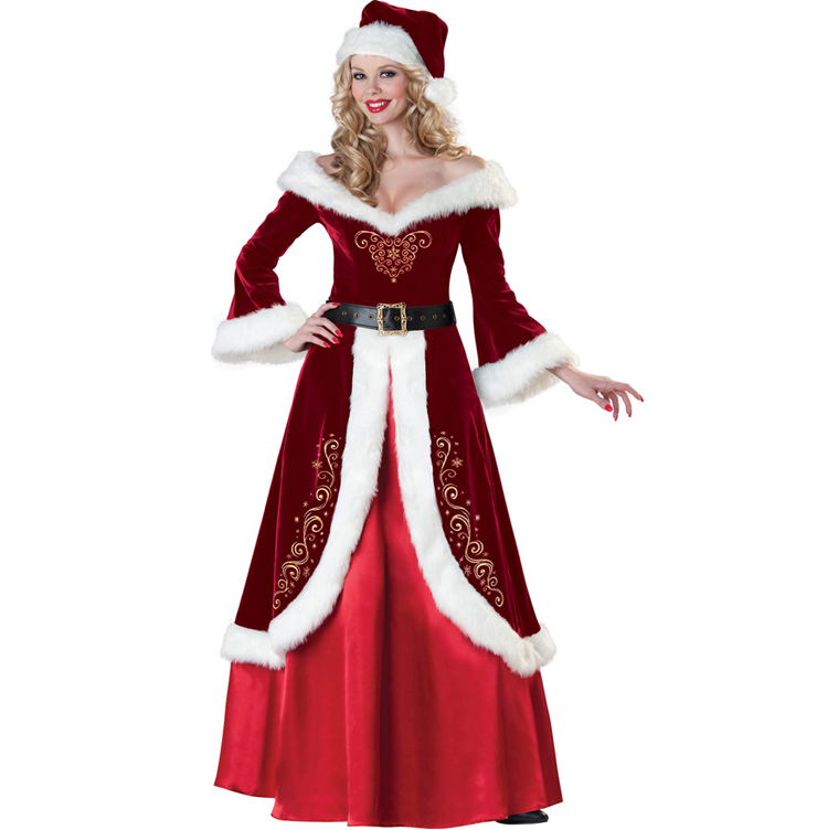 Mrs. St. Nick Christmas Costume XT6285