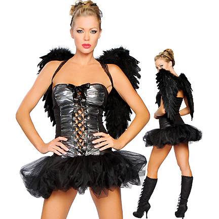 Naughty Dark Angel Costume N2133