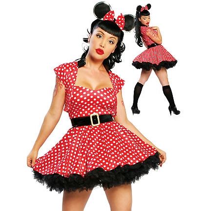 Naughty Mouse Costume, Sexy Costumes, Fairy Tale Sexy Halloween Costumes, Naughty Red Riding Hood Costumes, #N2292