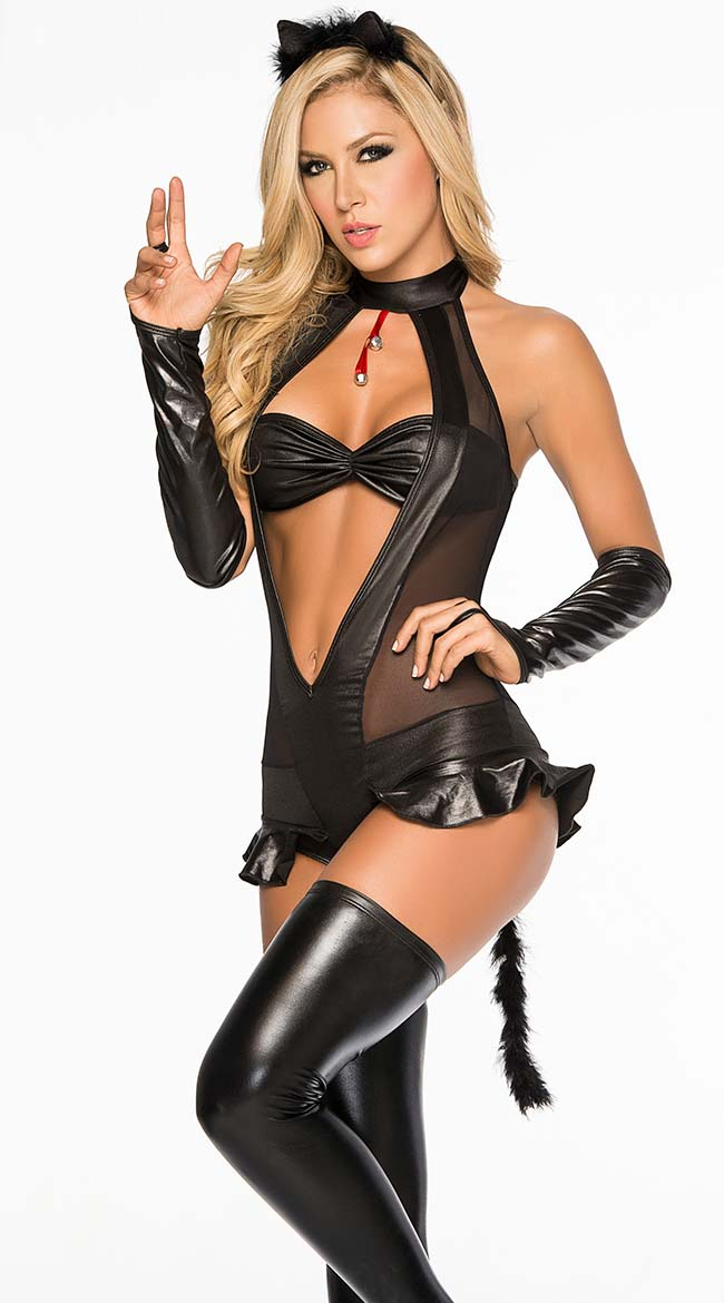 celebrities naughty lingerie costumes