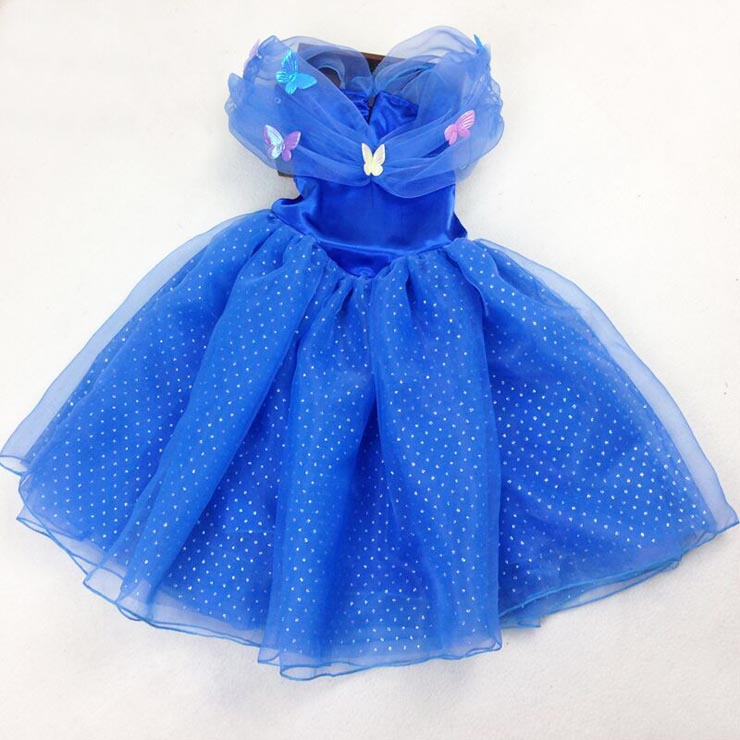 New Fashion Cinderella Kid Princess Dress Costume N10352