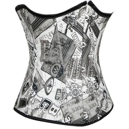 Newspaper corset N4560
