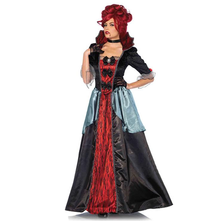 Sexy Nobility Vampiress Queen Cosplay Halloween Adult Costume N17840