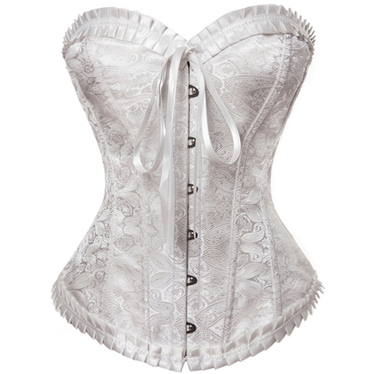 Noble Excellent Brocade Corset N7989