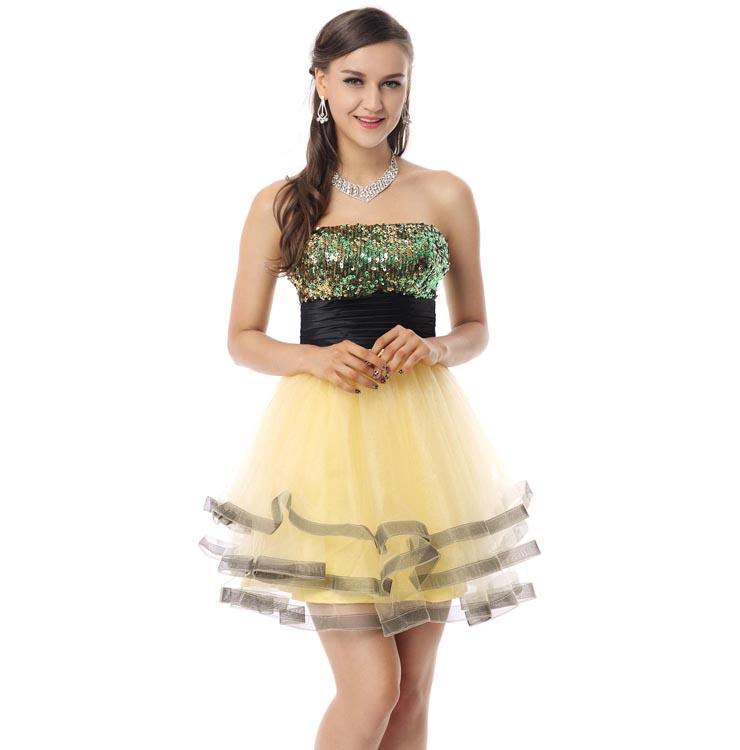 Sequin Short Prom Dresses
