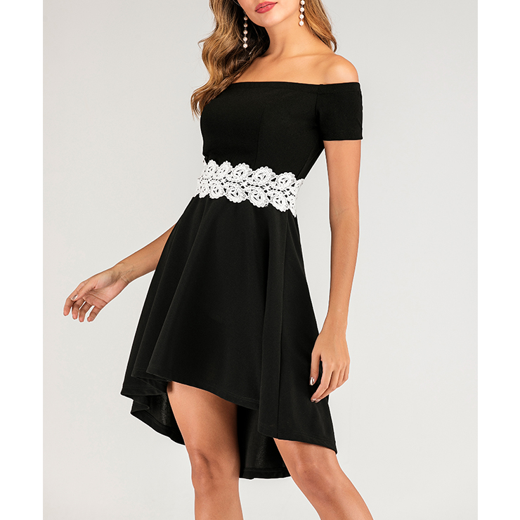 Sexy Little Black Dress, Vintage Off Shoulder Cocktail Party Dress, Fashion Casual Office Lady Dress, Sexy Tea Party Dress, Retro Party Dresses for Women 1960, Vintage Dresses 1950