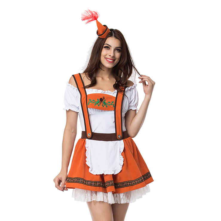 Beautiful Oktoberfest Beer Wench Costume N12964