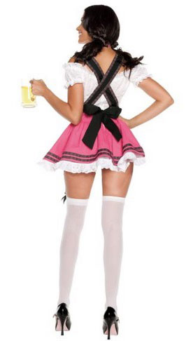 The German Milk Maiden Blows