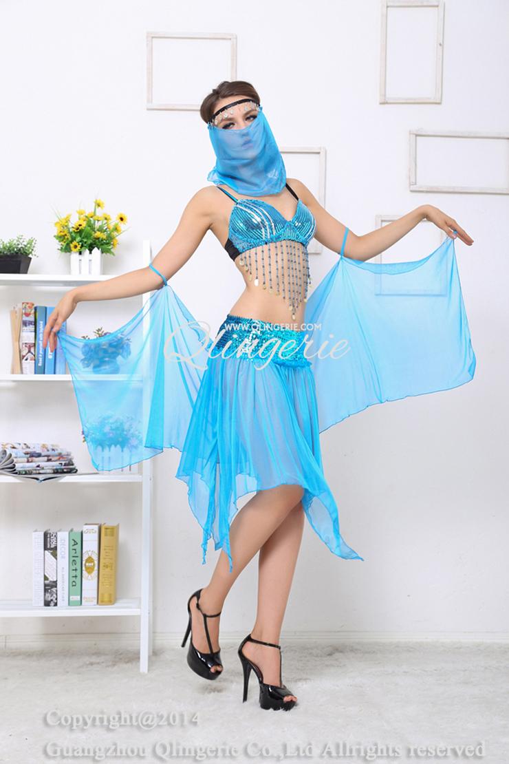 Deluxe Arabian Dancer Costume C6310