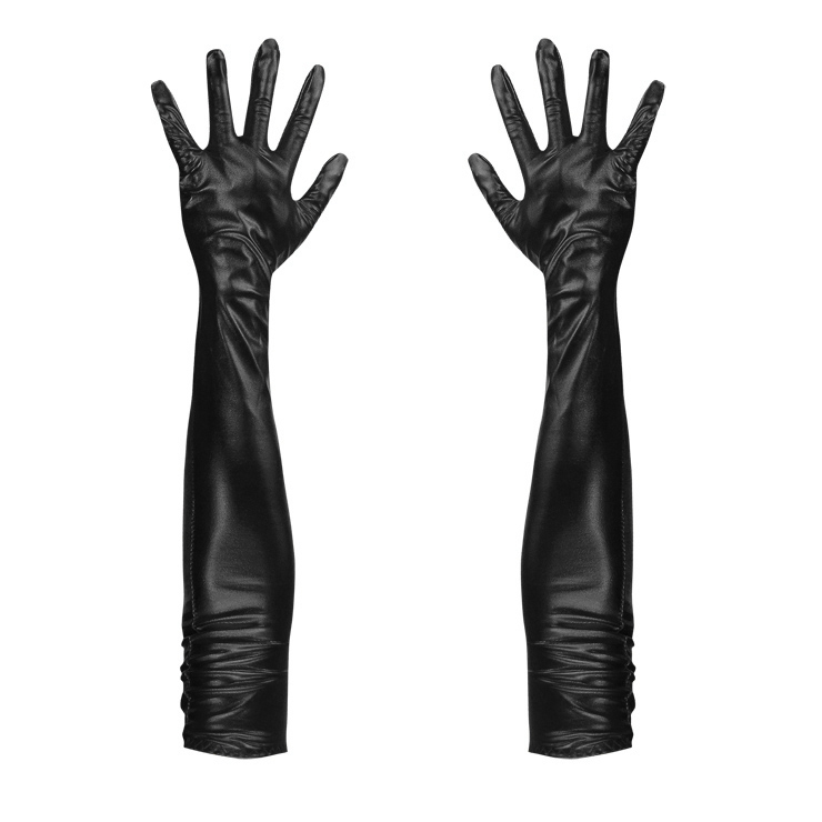 PVC Gloves, Sexy gloves, gloves wholesale, Long Gloves, #HG12700