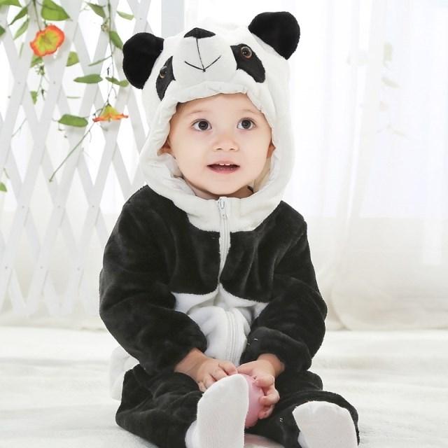 Panda Jumpsuit Romper N6267