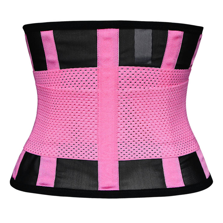 Waist Gym Trainer Corset, Waist Trainer Cincher Belt, Slimmer Body Shaper Belt, Cheap Sport Gym Waist Cincher Belt, Acrylic Bones Corset Belt, Hourglass Body Shaper, #N11018