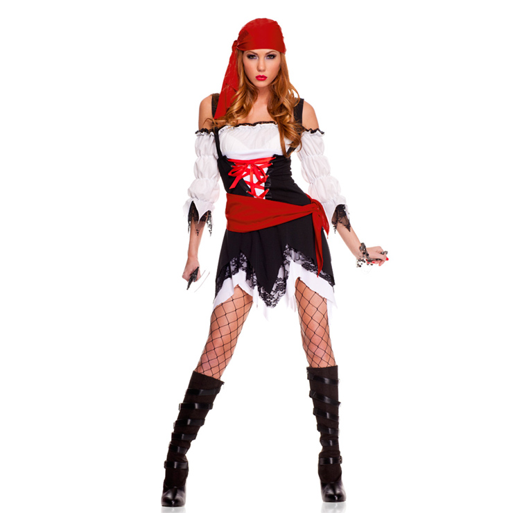 Pirate Vixen Girl Costume N4759