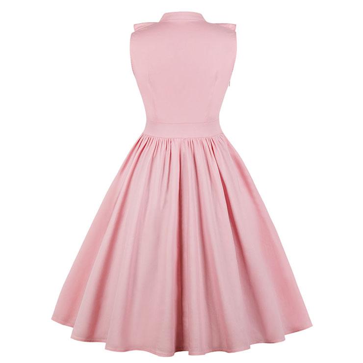 Plus Size Sleeveless V Neck Midi Summer Dress, Plus Size Casual Ruffled Falbala Swing Day Dress, Plus Size Casual Sleeveless Falbala Midi Party Dress, Women