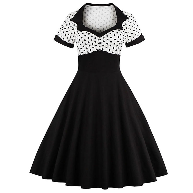 1950's Vintage Cocktail Party Dress N12364