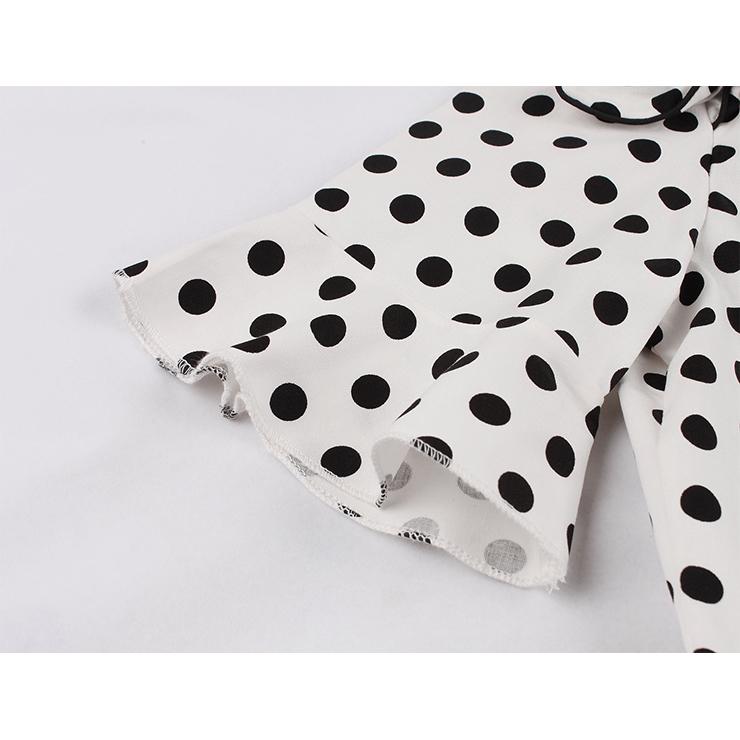Retro Polka Dots Dresses for Women 1960, Vintage Dresses 1950